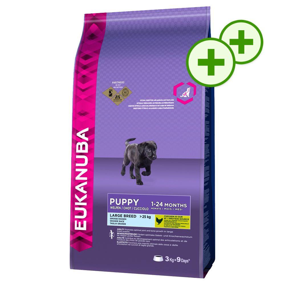 Podwójne punkty bonusowe: Duże opakowanie Eukanuba - Adult Weight Control Large Breed, 15 kg