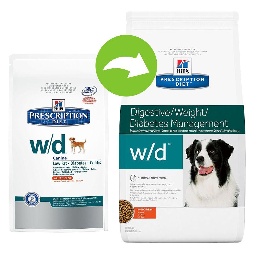 Chien Croquettes Hill´s Prescription Diet Diabète chez le chien