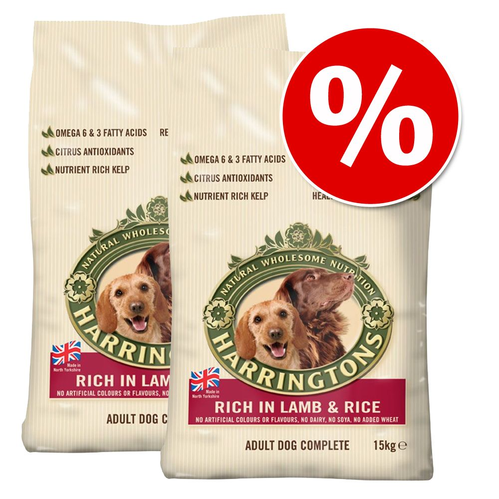 Harringtons Complete Dry Dog Food Economy Packs - Adult Salmon & Potato 2 x 12kg