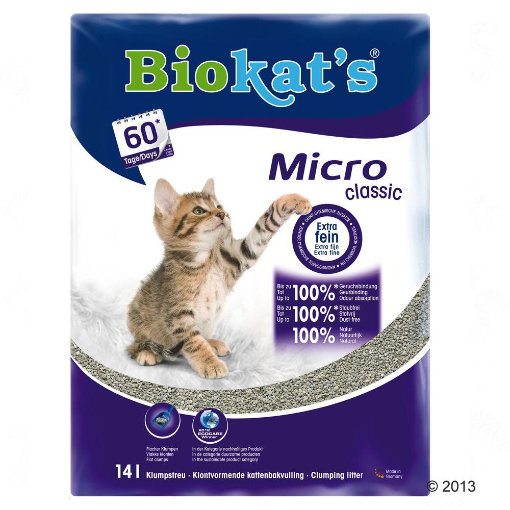 Chat Litière Biokat´s Litière pour chat grains ultra fins Biokat´s