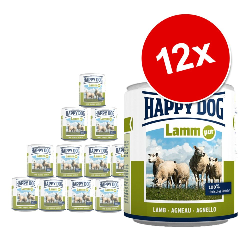 Foto Happy Dog Pur 12 x 800 g - Tacchino puro Cibo umido Happy Dog