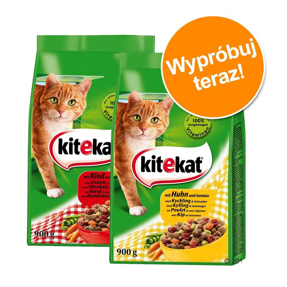 Pakiet próbny Kitekat, 2 x 900 g - 2 x 900 g