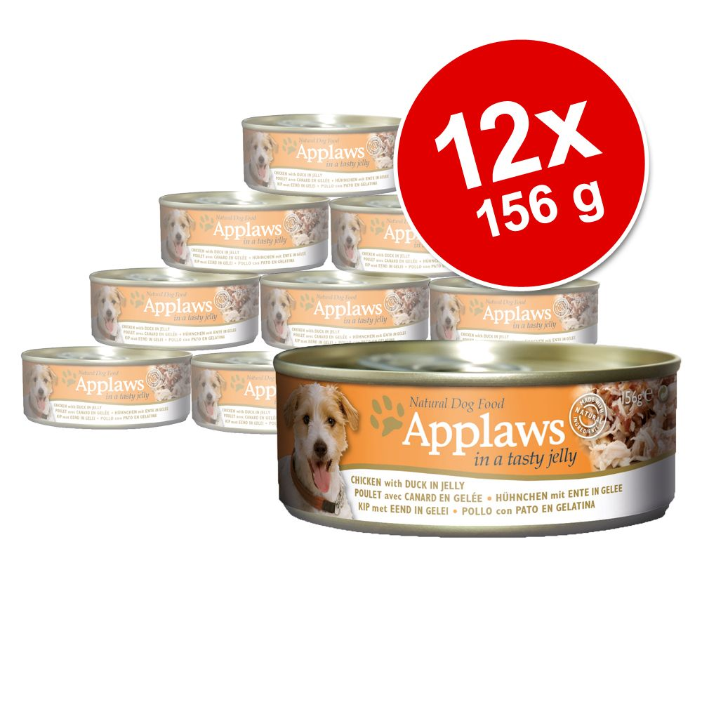 Sparpaket Applaws Hund Dose in Jelly 12 x 156 g...