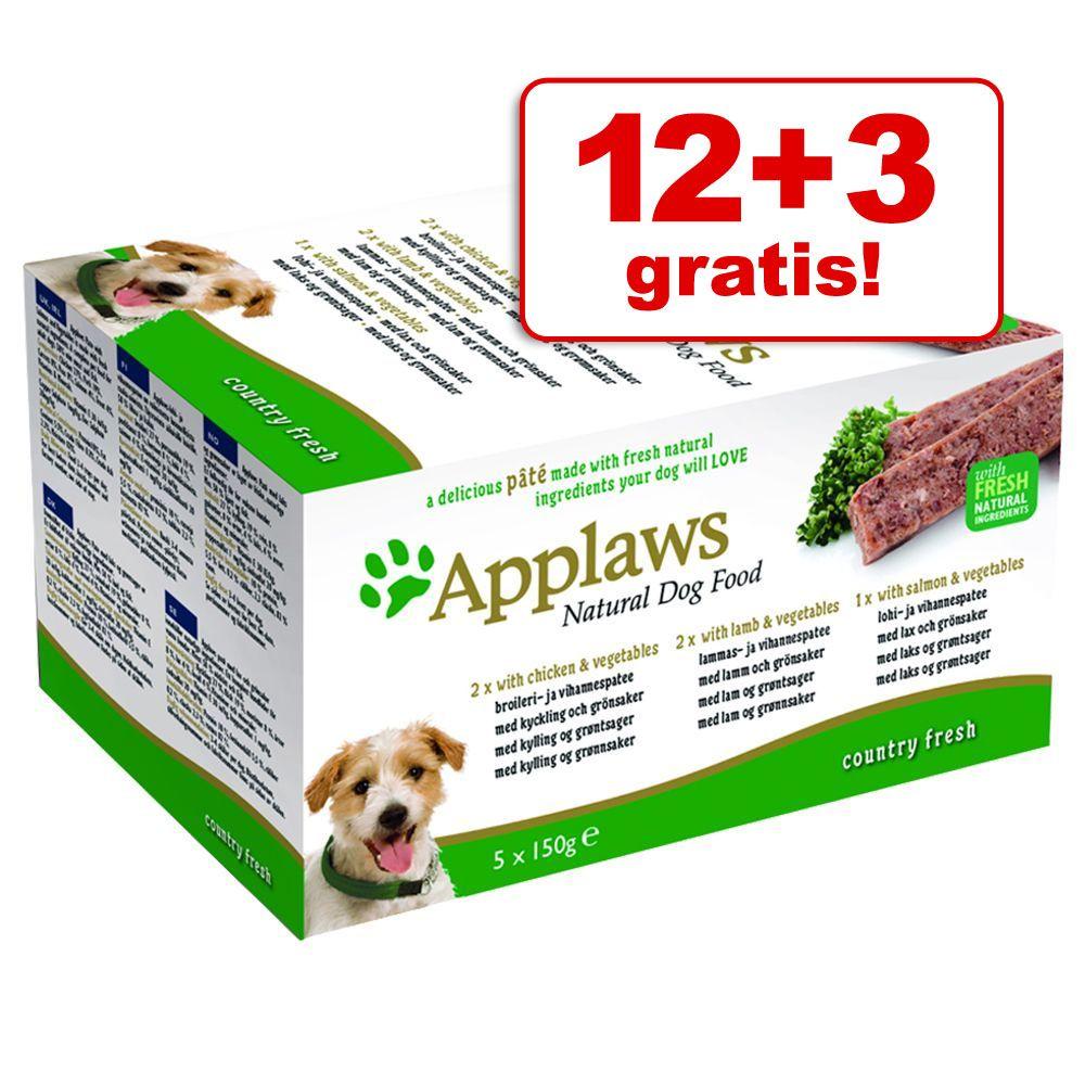 12 + 3 Gratis! Applaws Do