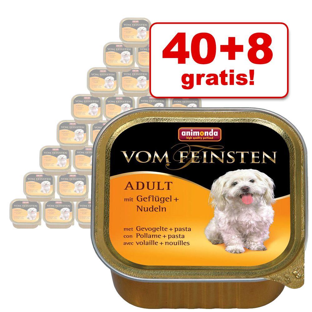 40 + 8 gratis! 48 x 150 g Animonda vom Feinsten...