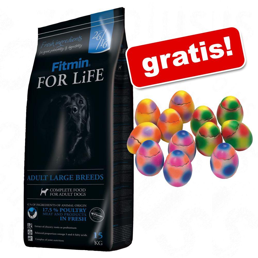 Duże opakowanie Fitmin + Pop-Up jajko - niespodzianka gratis! - Program Maxi Senior, 15 kg