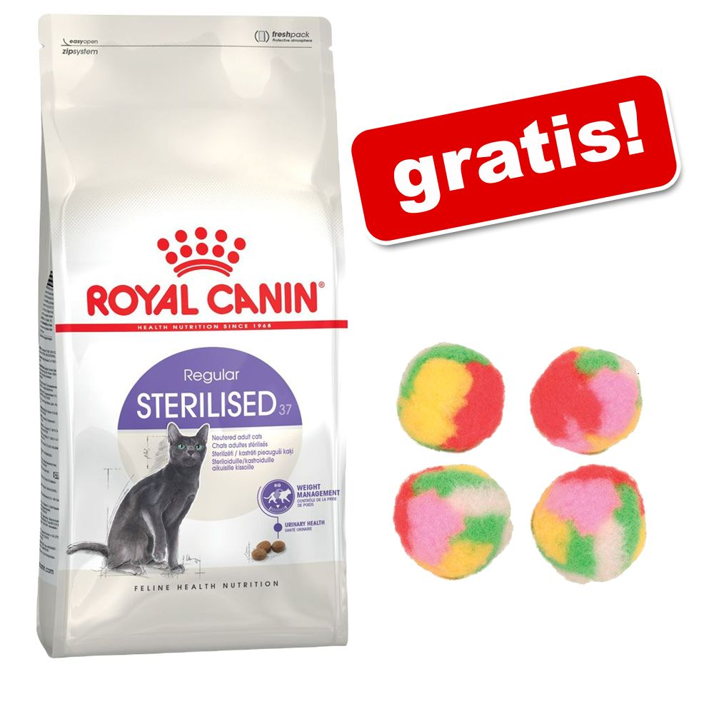 2/3,5 kg Royal Canin + Trixie piłeczki pompony dla kota gratis! - Light Weight Care 40, 2 kg