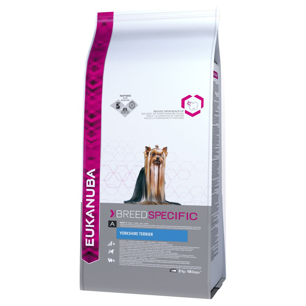 Eukanuba Adult Breed Specific Yorkshire Terrier - Sparpaket: 3 x 2 kg