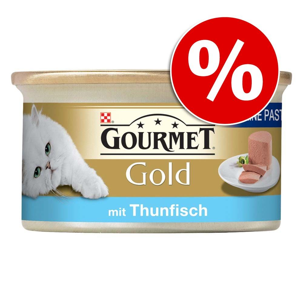 48 x 85 g Gourmet Gold Mus w super cenie! - Pakiet mięsno-rybny