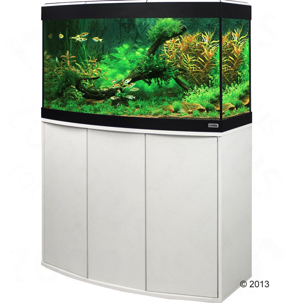 Ensemble aquarium / sous-meuble Fluval Vicenza 180 - hêtre