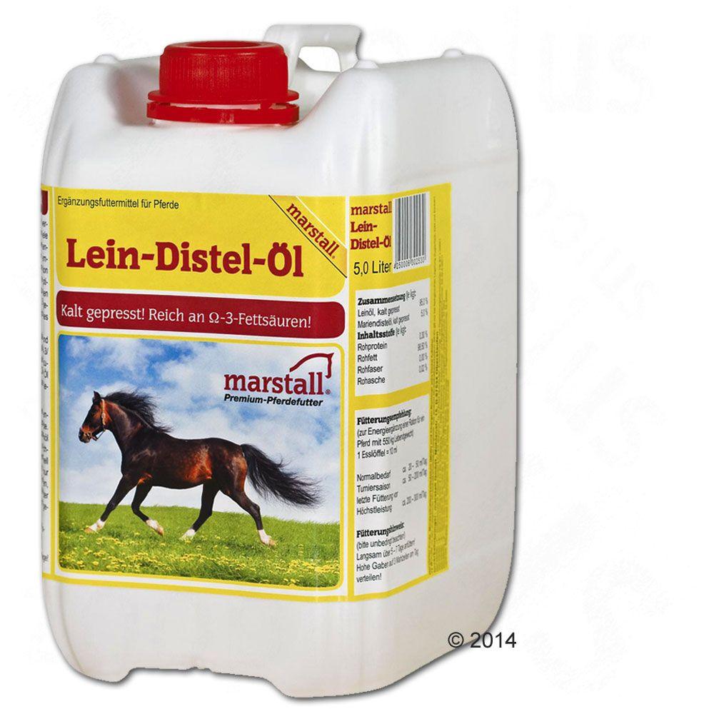 Foto Marstall Olio di lino e cardo - 3 x 5 l - prezzo top!