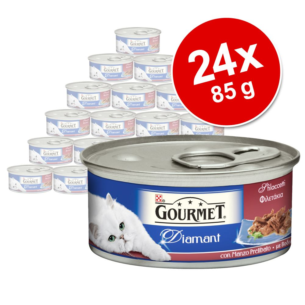Image of Gourmet Diamant 24 x 85 g - Ente mit Tomate & Spinat