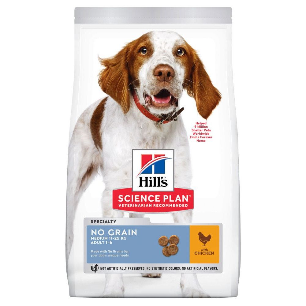 Chicken Medium No Grain Adult Hill's Science Plan Dry Dog Food
