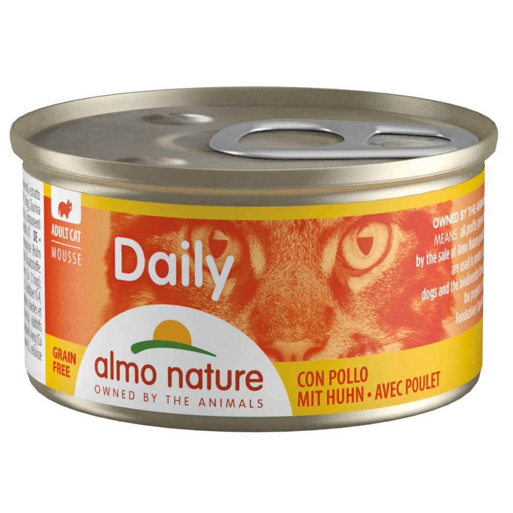 Image of Almo Nature Daily Menu 6 x 85 g - Häppchen mit Forelle