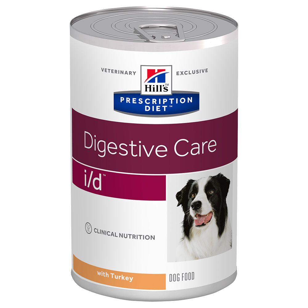 Hill's Prescription Diet i/d Digestive Care hundfoder - kalkon - Ekonomipack: 24 x 360 g