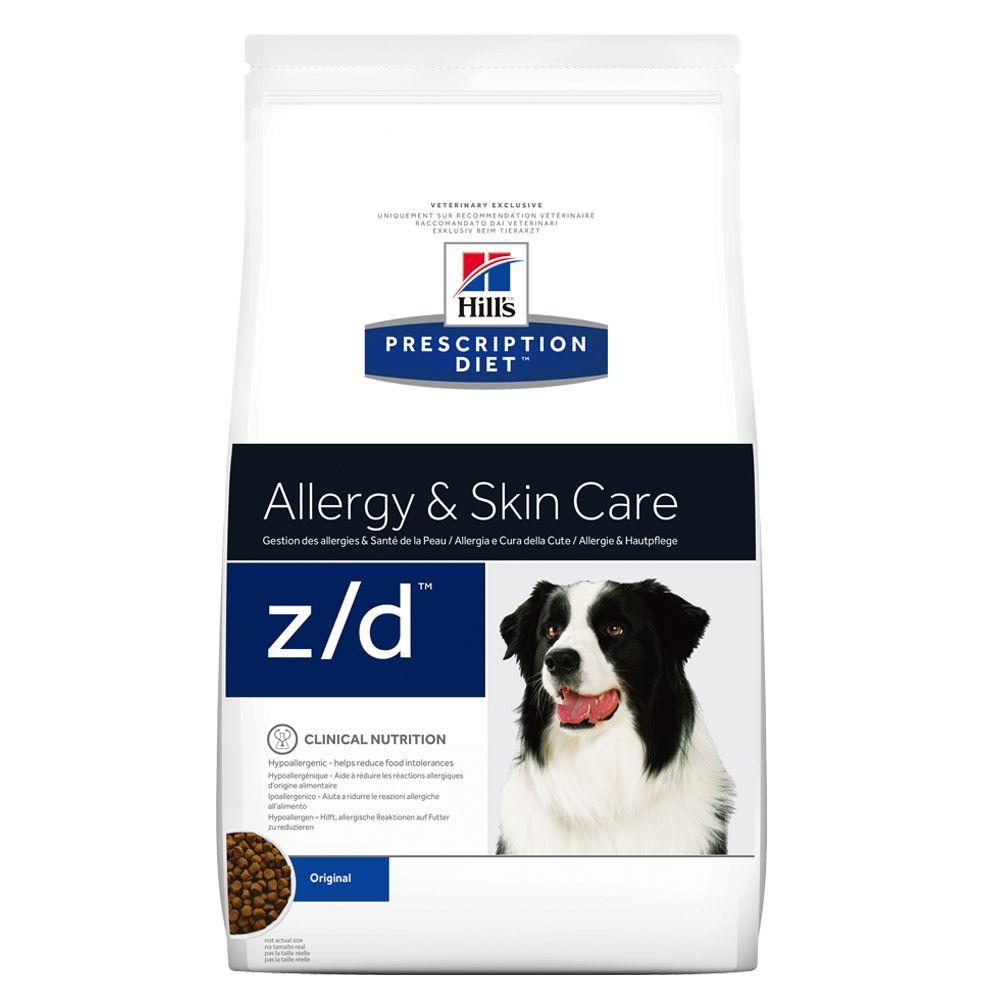 Foto Hill's z/d Prescription Diet Canine secco - 2 x 10 kg - prezzo top! Hill's Prescription Diet Allergie e digestione
