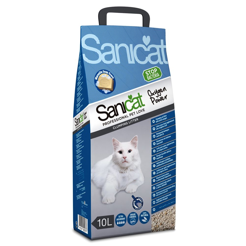 Sanicat Oxygen Power Clumping Litter