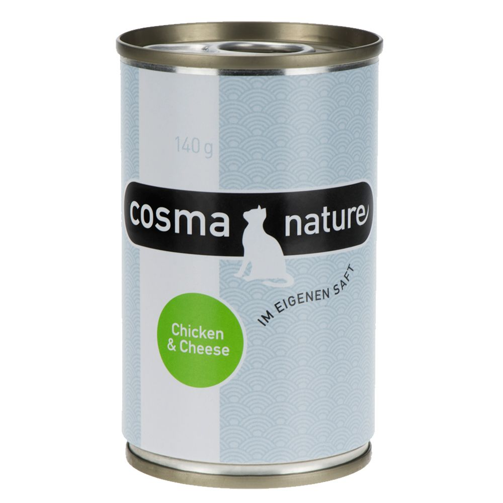 Cosma Nature 6 x 140g - Chicken & Cheese