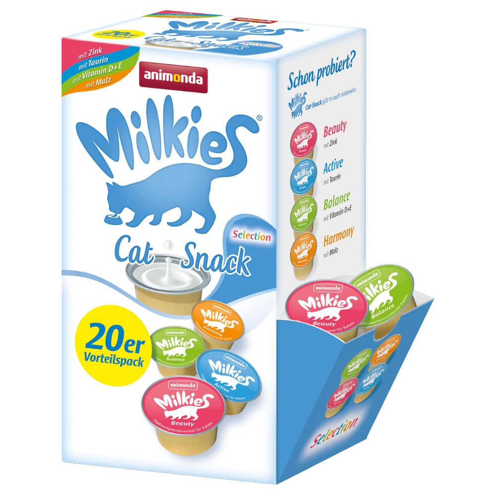 20x15g Mixed Pack II Milkies Animonda Cat Snacks