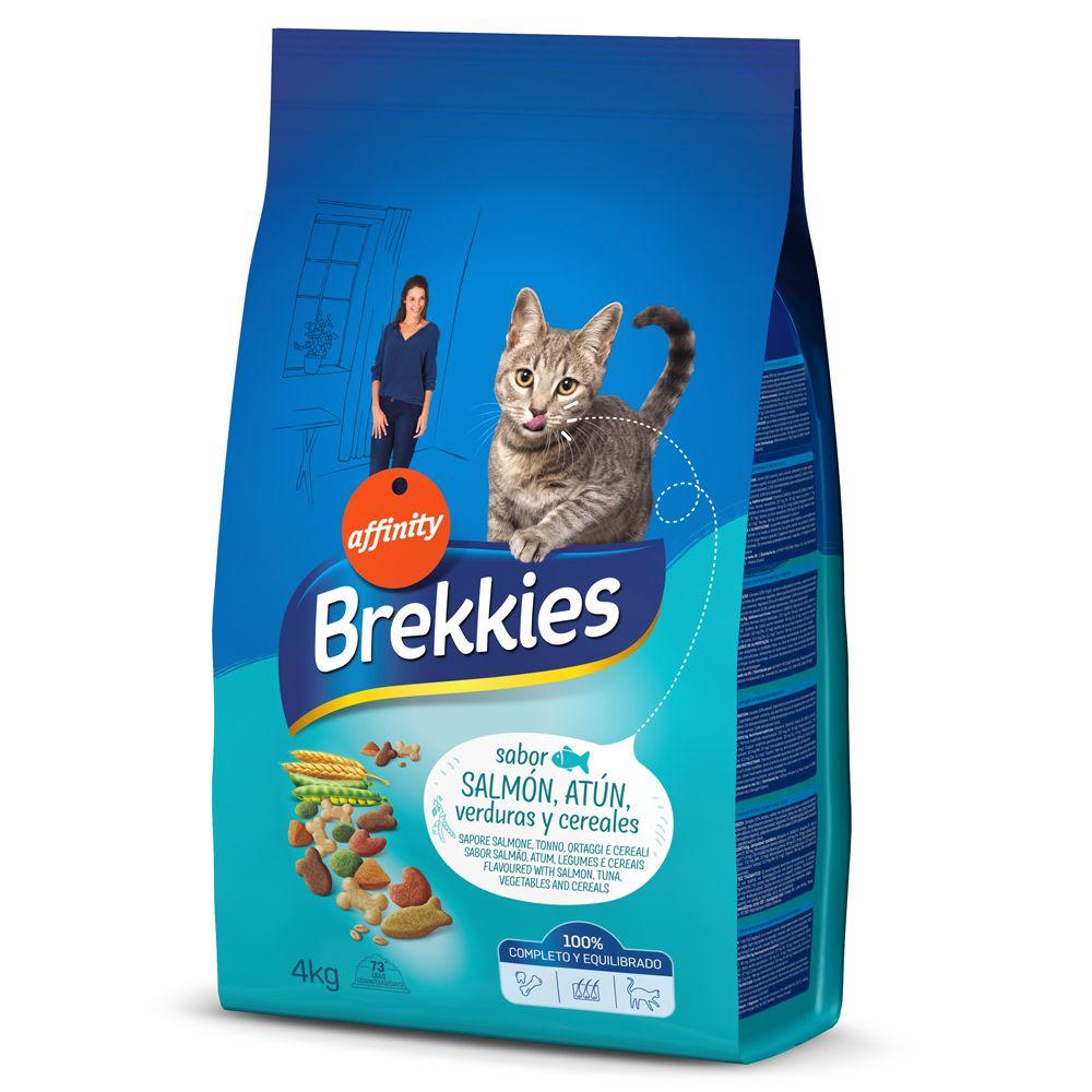 2x15kg Brekkies poisson - Croquettes pour chat