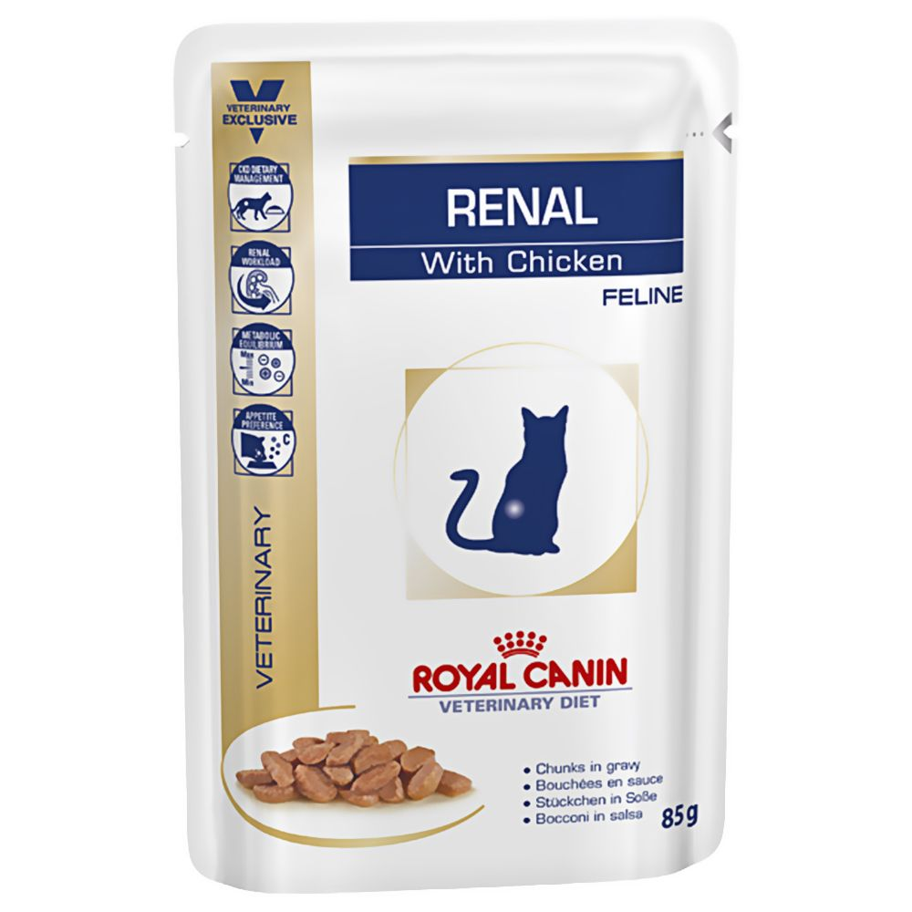 Royal Canin Renal Chicken - Veterinary Diet - 48 x 85 g