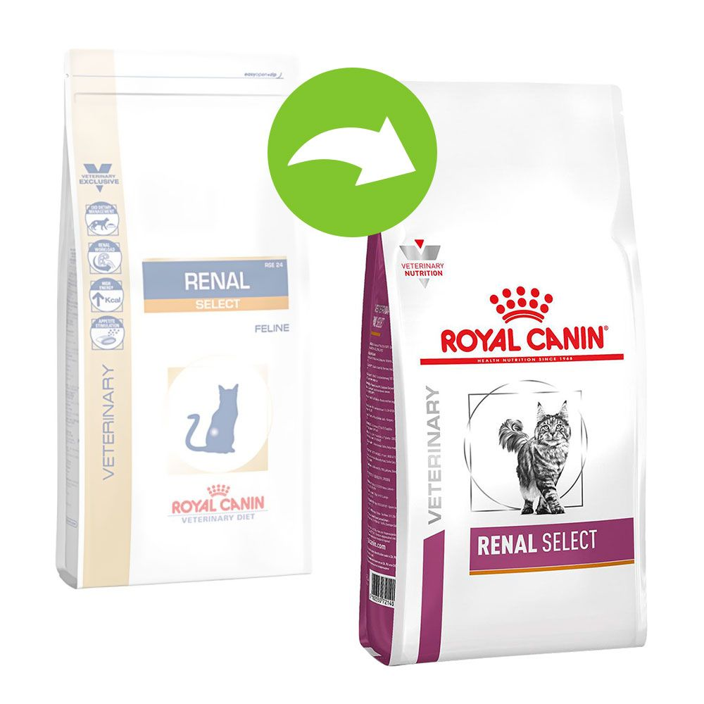 Royal Canin Veterinary Diet Feline Renal Select - Ekonomipack: 2 x 4 kg