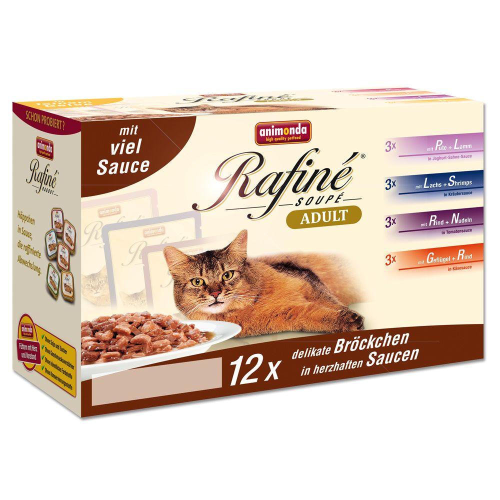 Pakiet Animonda Rafiné Soupé, 12 x 100 g - Pakiet w sosie
