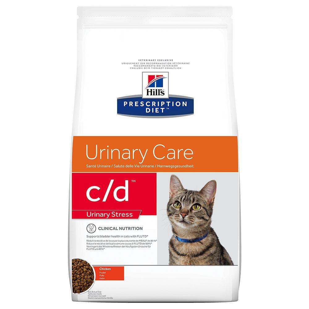 Hill's Prescription Diet c/d Urinary Stress Urinary Care Katzenfutter mit Huhn - 1,5 kg
