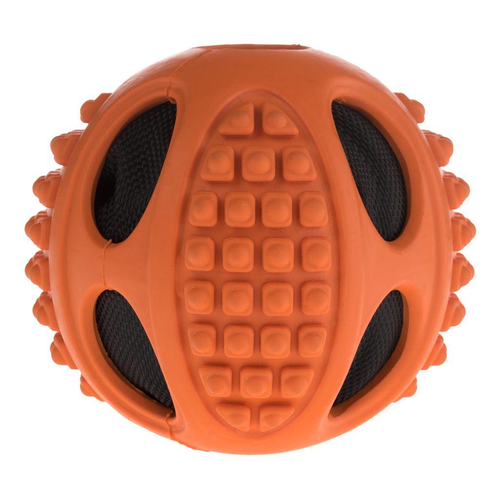 Szeleszcząca piłka dla psa 2 w 1 - 1 sztuka, Ø 6 cm