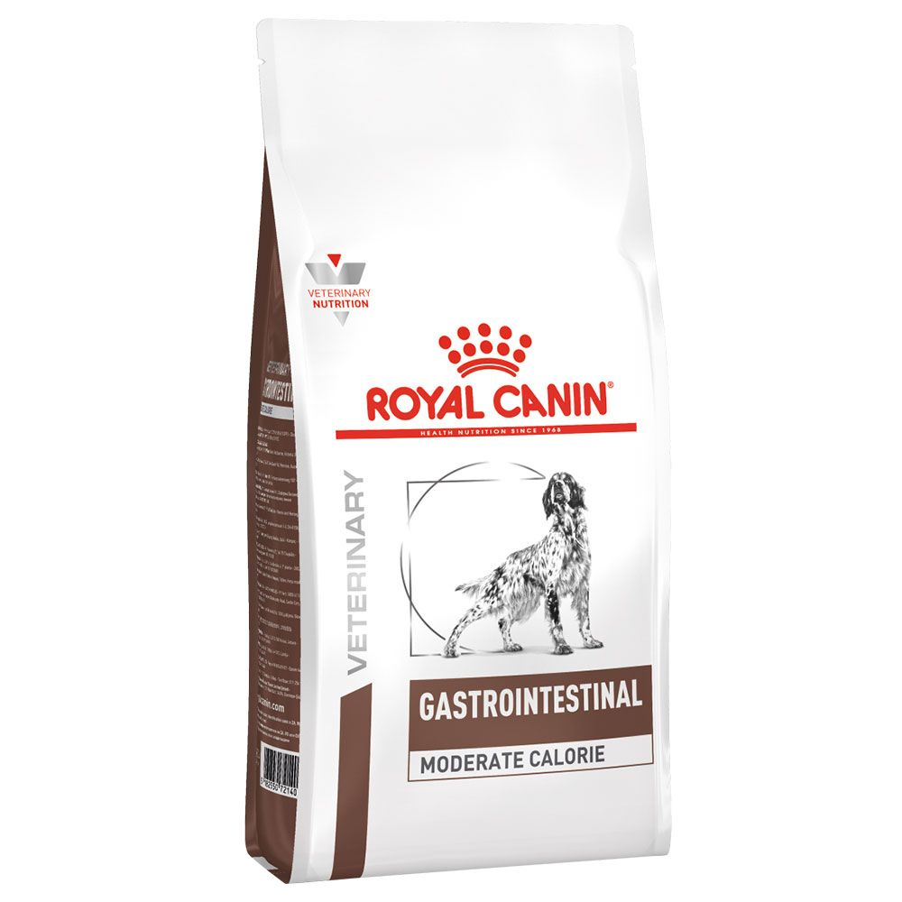 7.5kg Gastro Intestinal Moderate Calorie Royal Canin Veterinary Diet Dry Dog Food