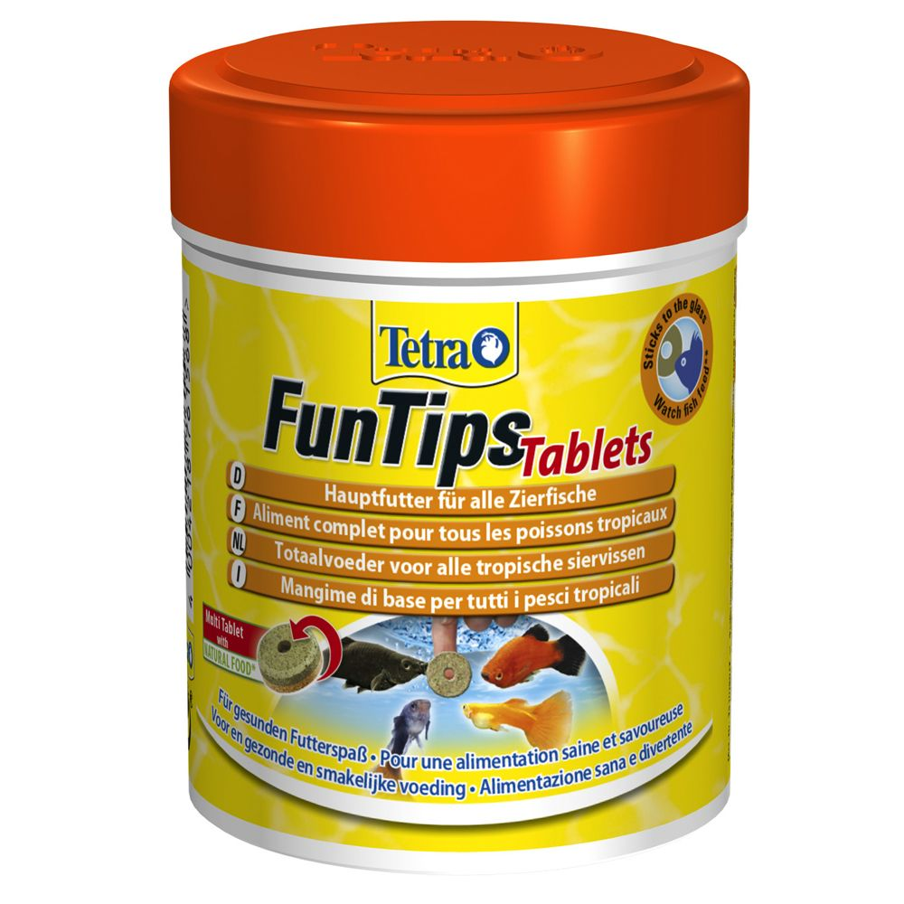 Image of Tetra Tablets FunTips mangime in compresse - 165 compresse