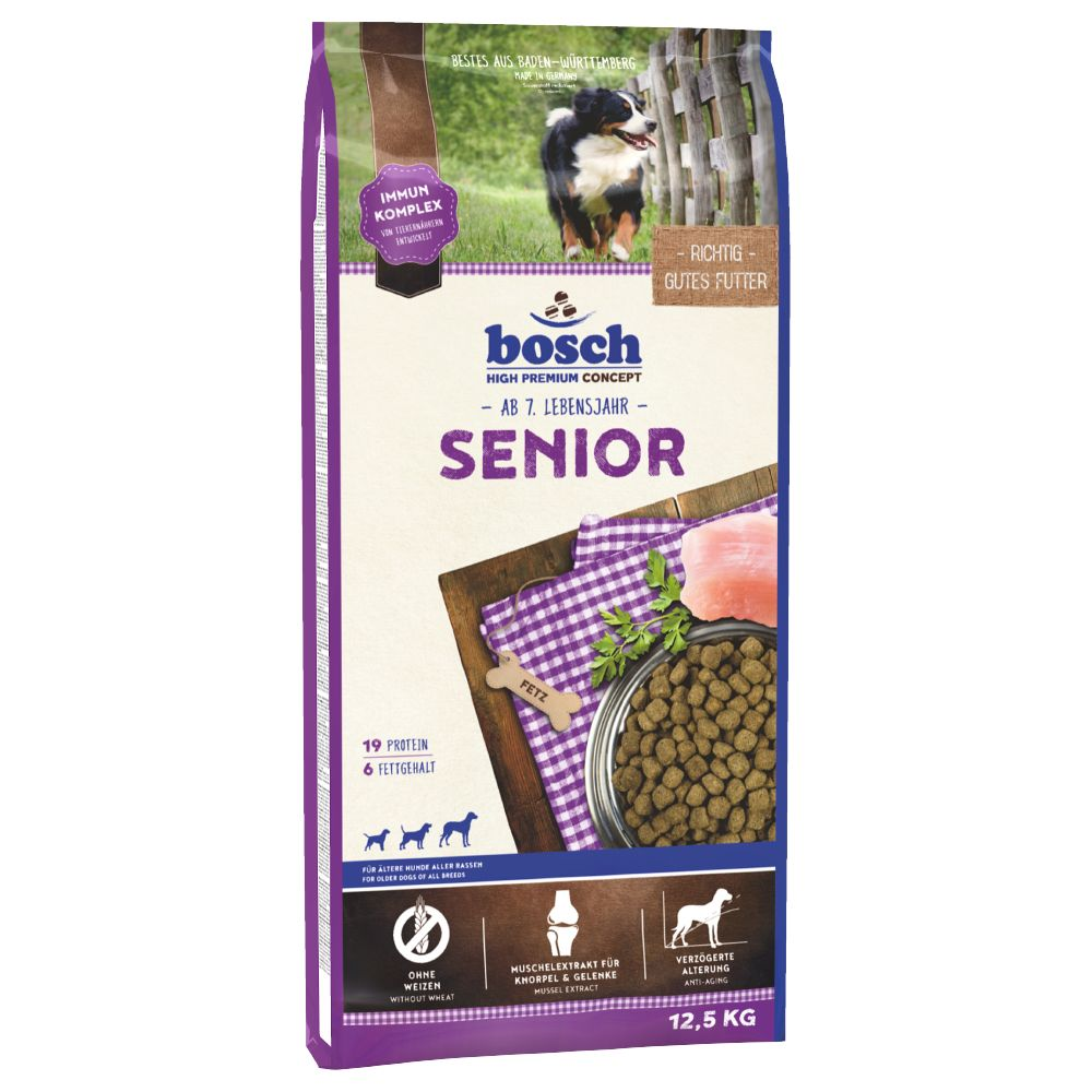 bosch Senior Dry Dog Food - 12.5kg