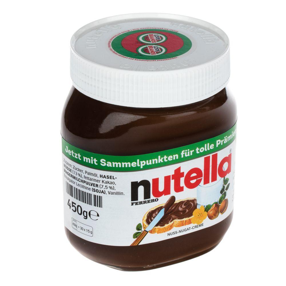 Image of Nutella Nuss-Nugat-Creme - 3 x 450 g