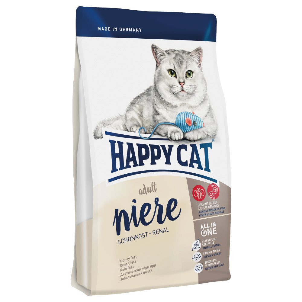 Happy Cat Adult Kidney Diet Dry Food - Economy Pack: 2 x 1.4kg