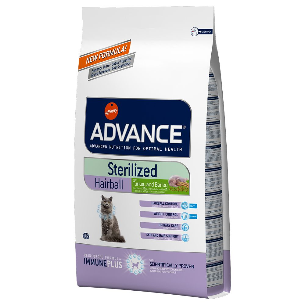 Advance Sterilized Hairball - 10 kg
