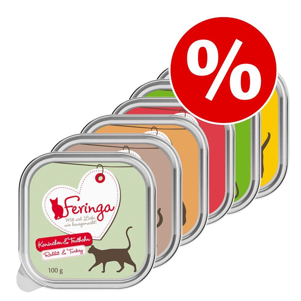 Prova Feringa portionsformar 6 x 100 g Kanin & kalkon