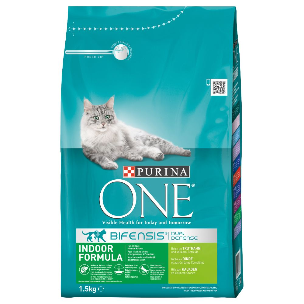 Purina ONE Sterilcat Beef & Wheat Dry Cat Food 2 x 3kg