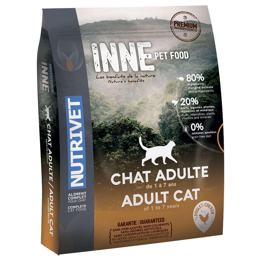 6kg Nutrivet Inne Dry Cat Food