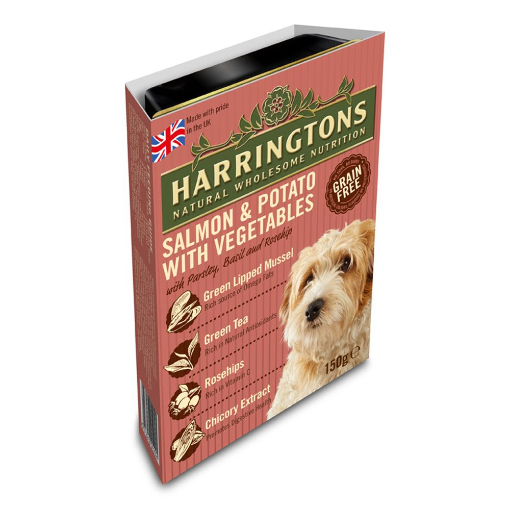 Harringtons Complete Adult Dog - Salmon & Potato - 8 x 400g