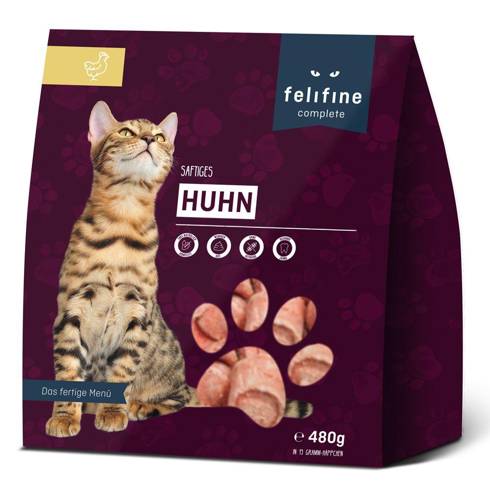 Felifine Complete Nuggets, kurczak - 5 x 480 g