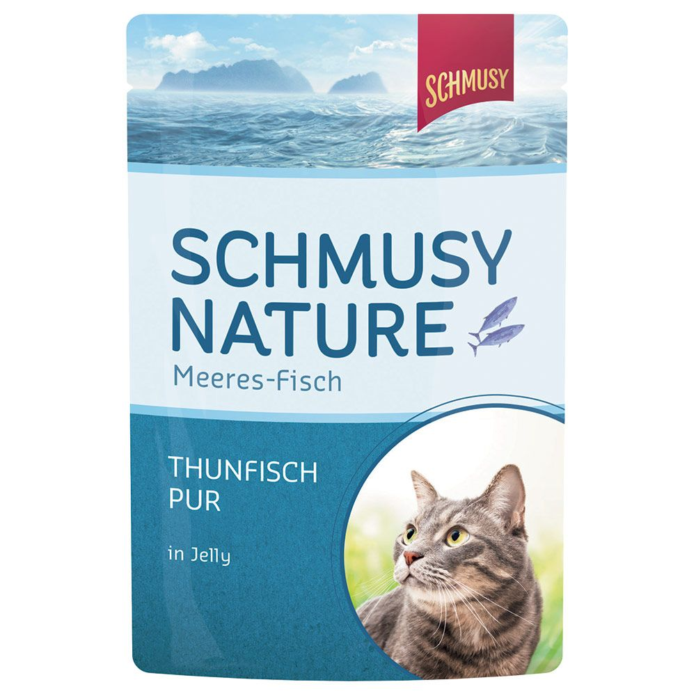 Schmusy Nature Fish 24 x 100 g - Tonfisk