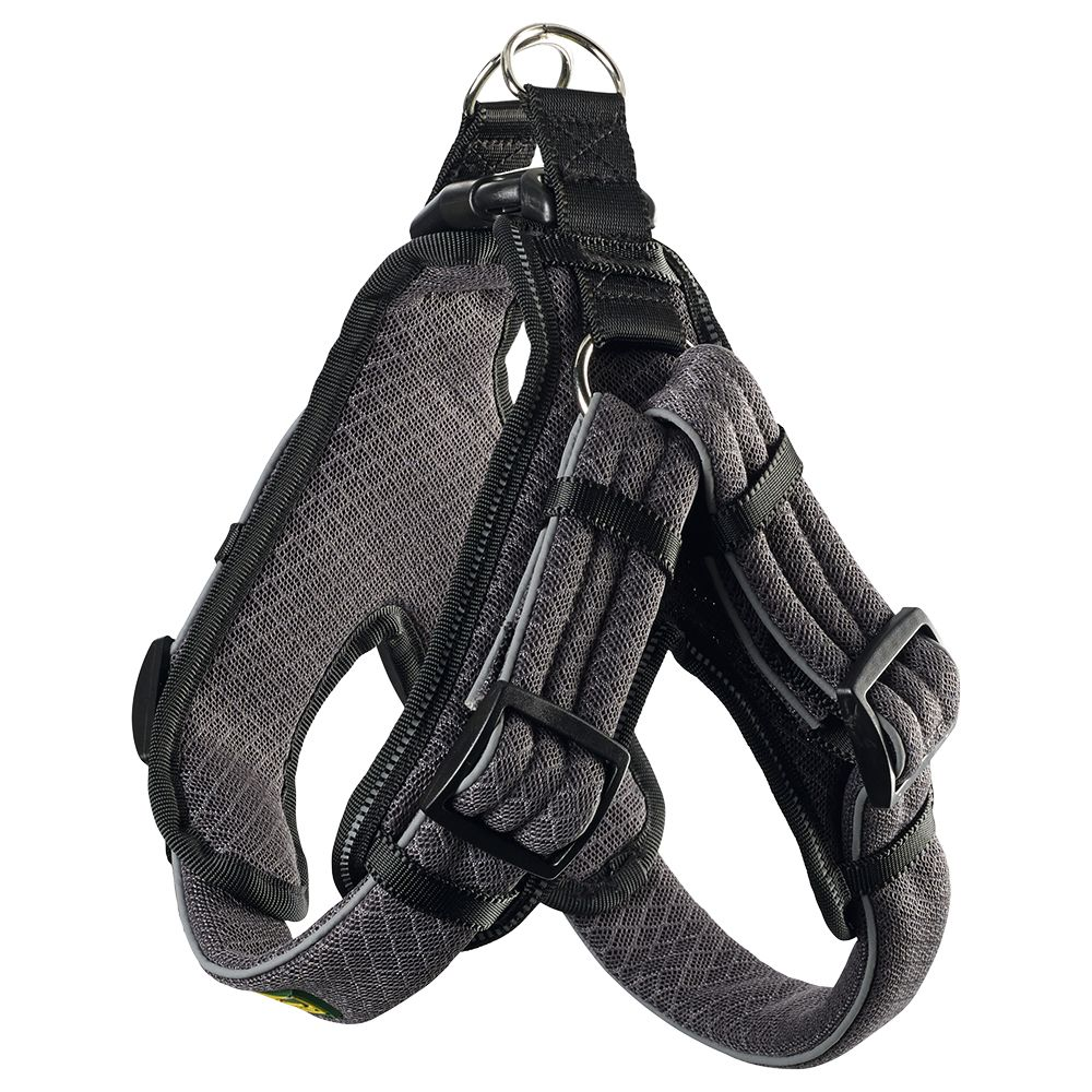 Hunter 55-65cm Grey Manoa Vario Quick Light Harness Size M