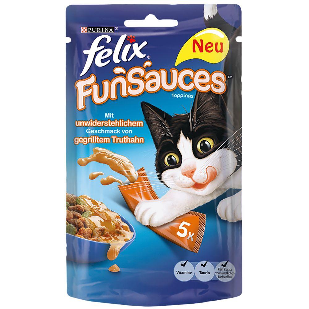 Felix FunSauces - Indyk, 5 x 15 g