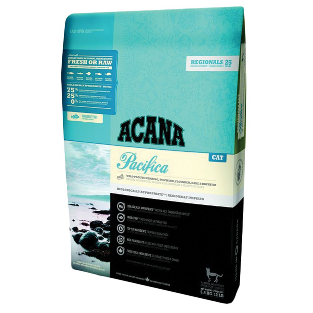 INOpets.com Anything for Pets Parents & Their Pets Acana Regionals Pacifica Dry Cat Food - 5.4kg