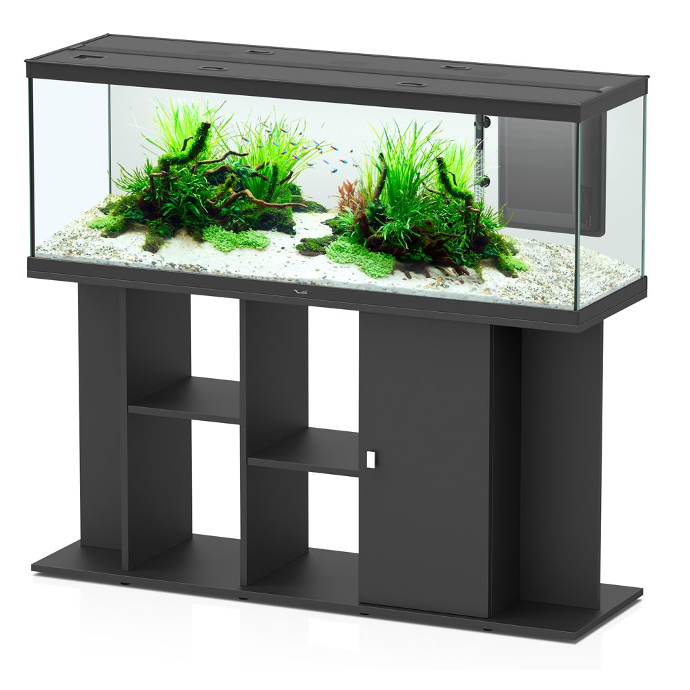 Aquatlantis Style LED 150 x 45 Aquarium Set - Black