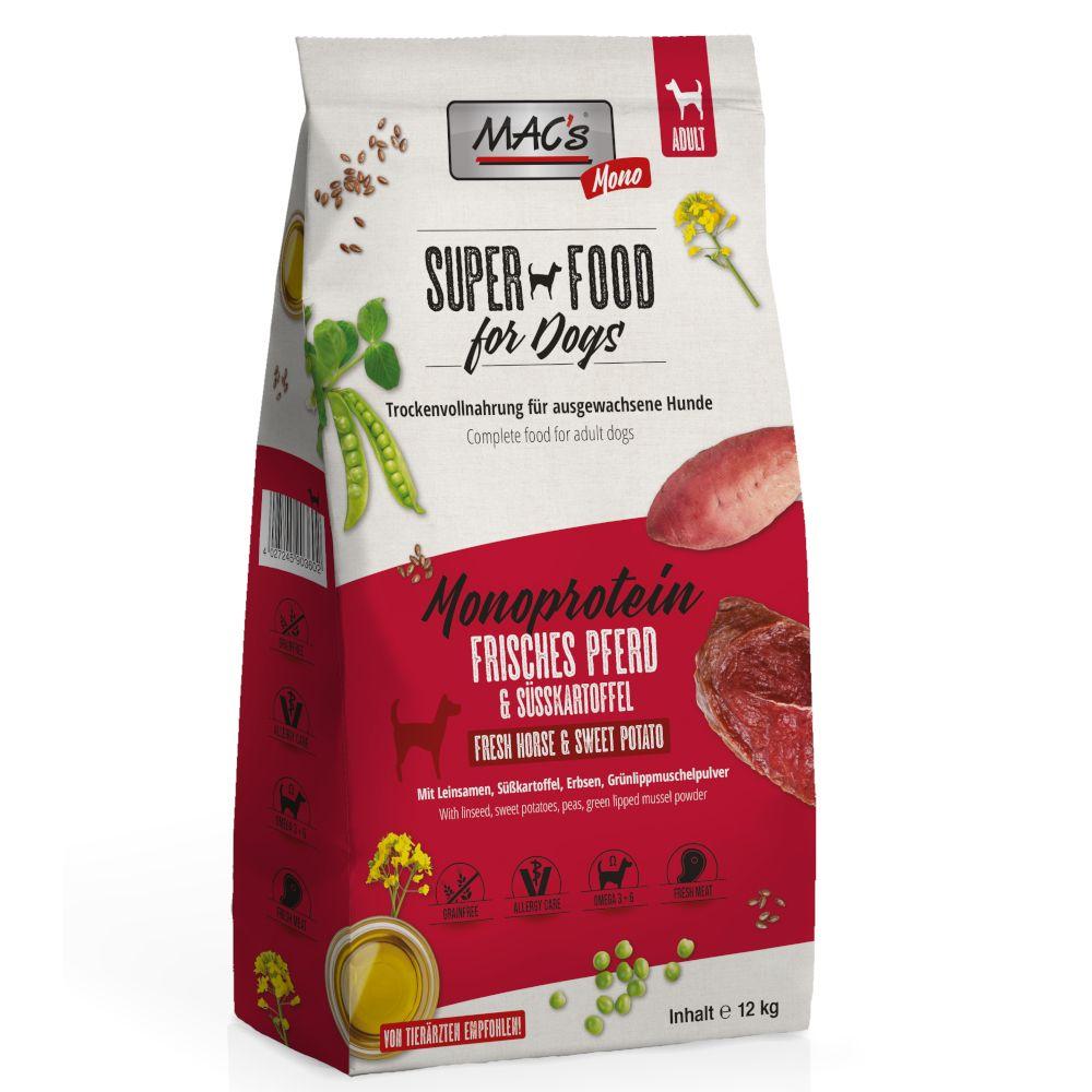 MAC's Mono Pferd Hundefutter - 12 kg