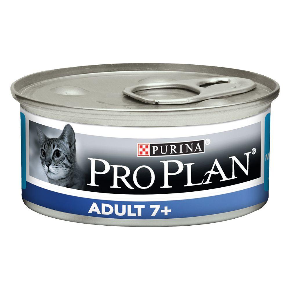 Pro Plan Cat Adult 7+ - 48 x 85 g Tonfisk