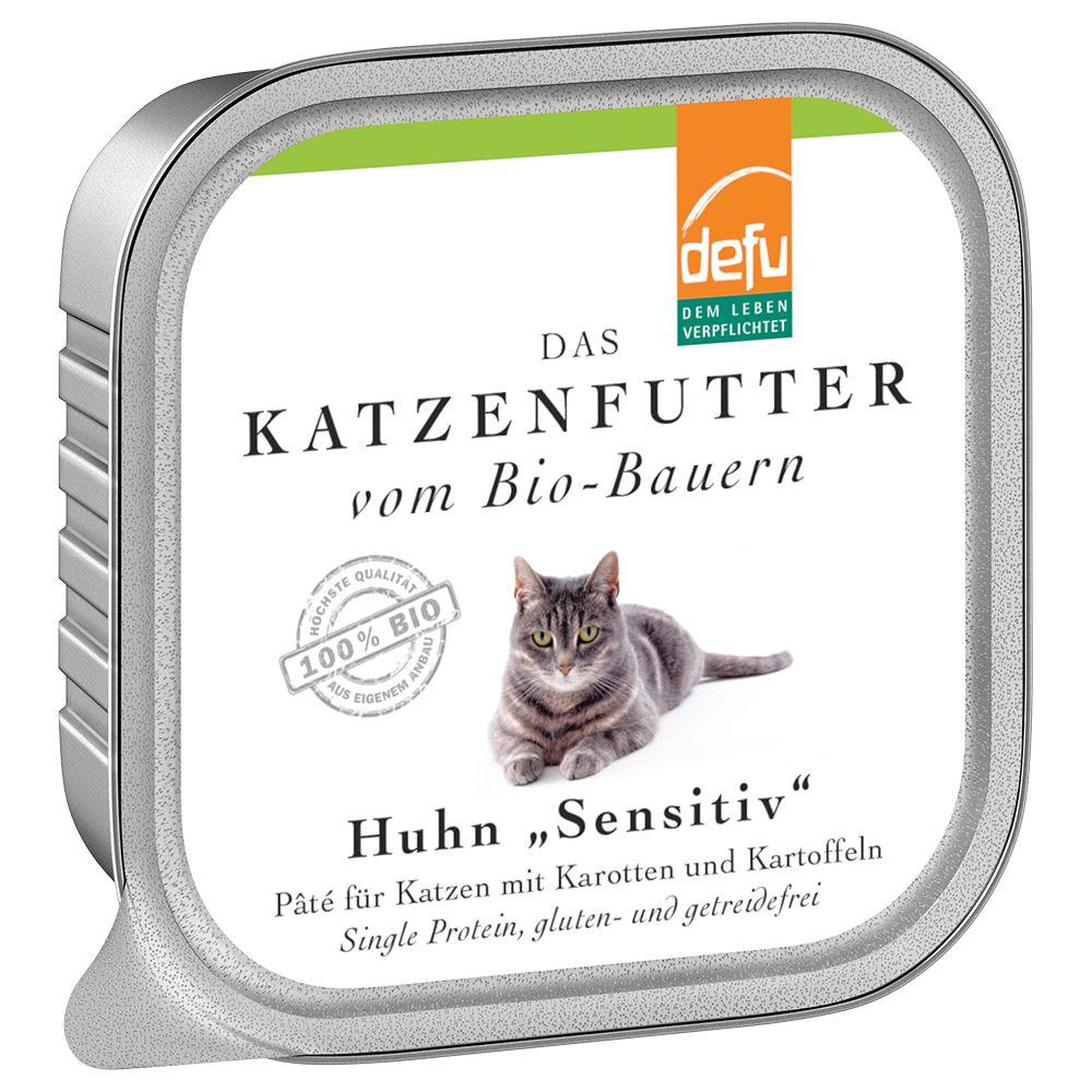 Defu Katze Pate Sensitive 16 x 100 g - Huhn