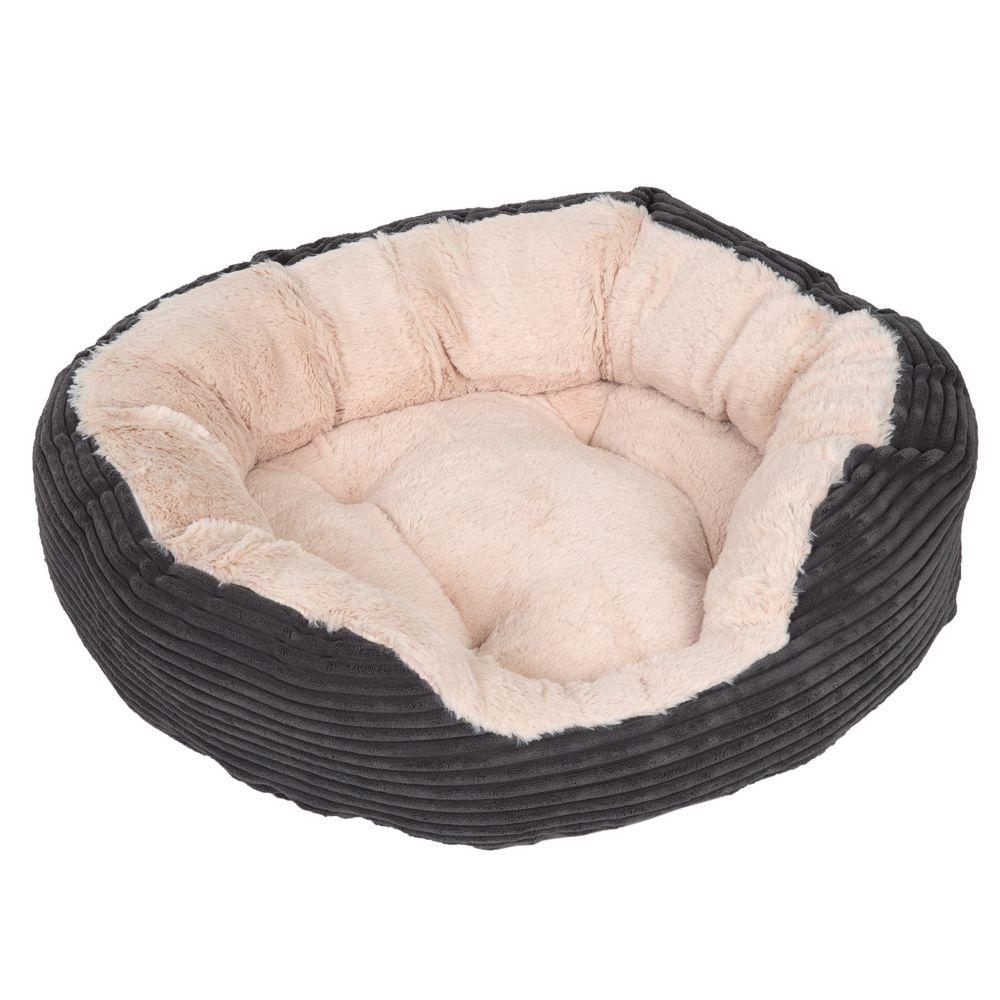 Panier Chien Velours Cozy Cord L51xl43xH15cm - Panier pour chien
