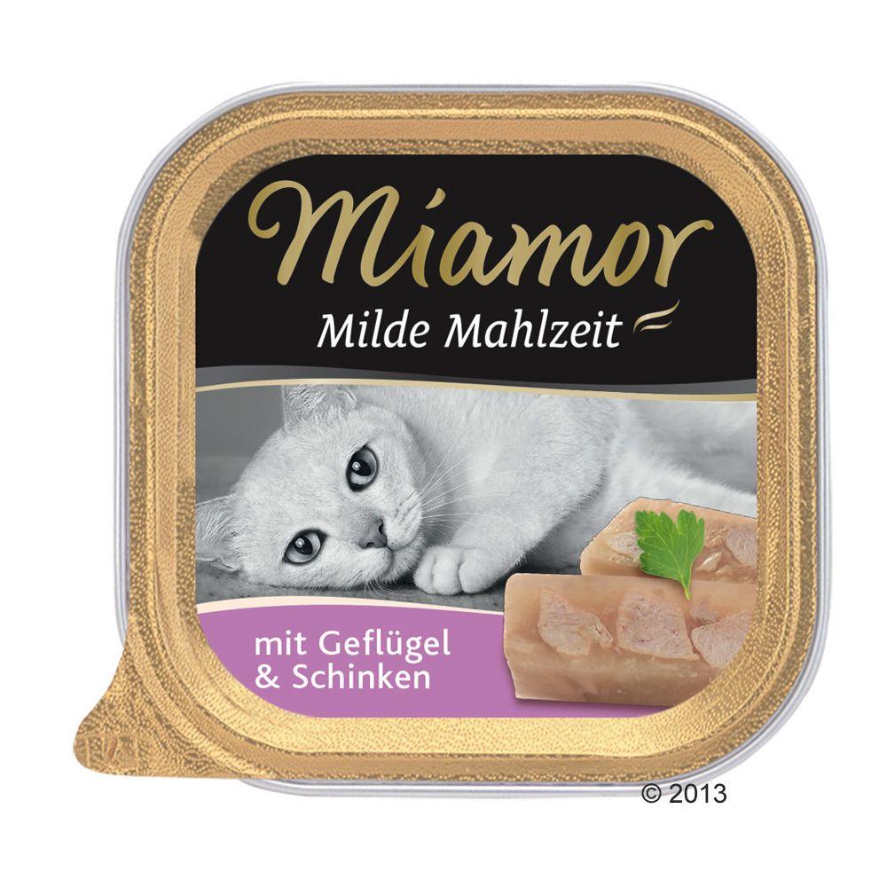 Miamor Milde Mahlzeit, 6 x 100 g - Kurczak z warzywami